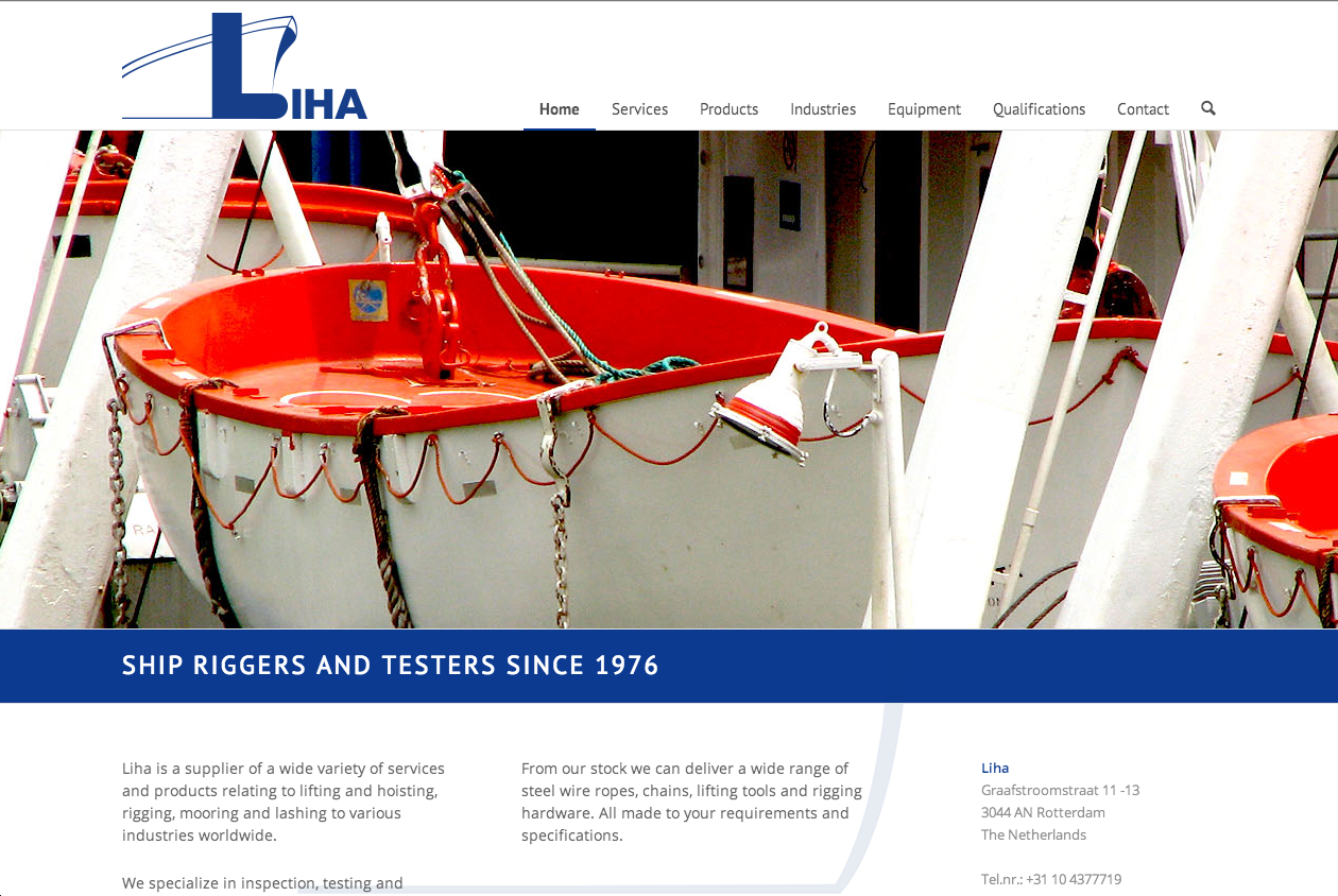 Liha Ship Riggers and Testers
